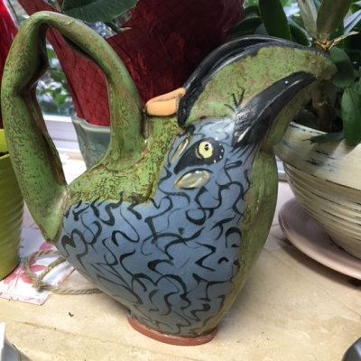 Lisa Naples Bird Creamer