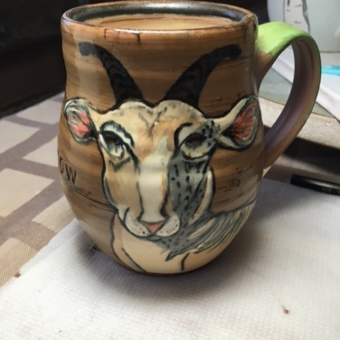 Lisa Naples Goat Mug