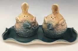 QUAIL S&P SET. sold. + other style birds