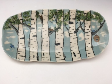 BIRCH TRAY SUMMER, $38 SOLD. ORDER ME