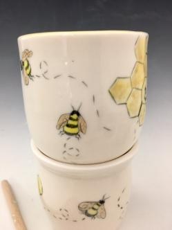 Bee Cups $32