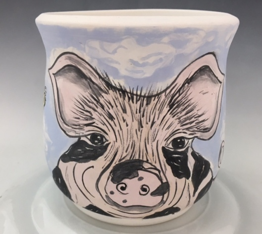 This Little Piggie $ 32 SOLD, Order Me