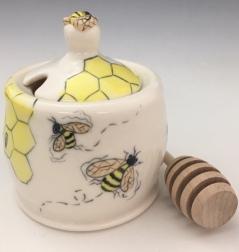 Bee Honey Pot